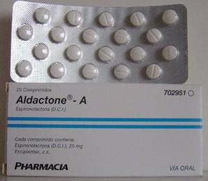 aldactone 25 mg para que sirve